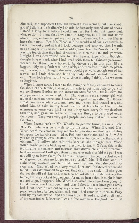 The History of Mary Prince, A West Indian Slave -Page 20